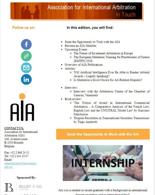 association for international arbitration